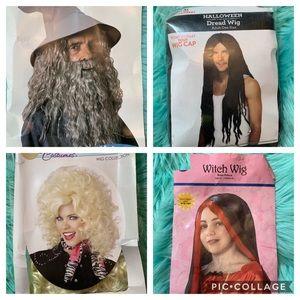 mixed wigs various